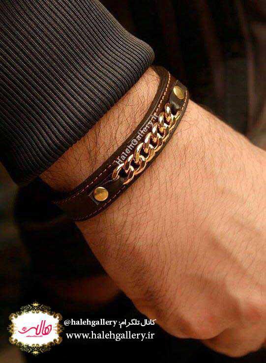 قیمت دستبند طلا مردانه
